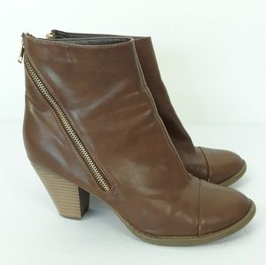 ND Harper booties Size 8.5 brown ankle boot